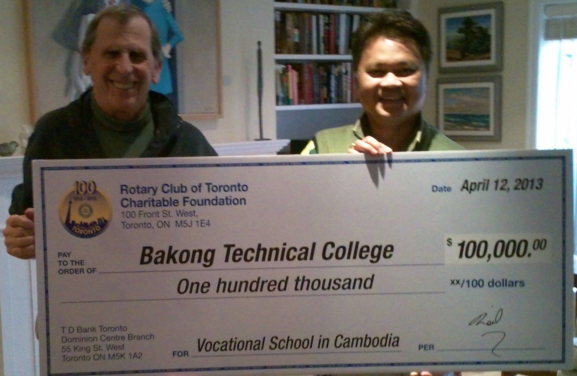 BTC Bakong Technical College Cambodia #130